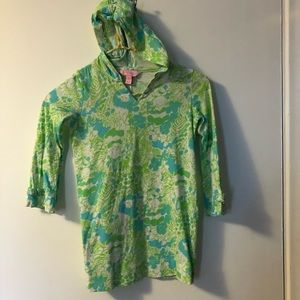Girls Lily Pulitzer size small (4-5) hoodie